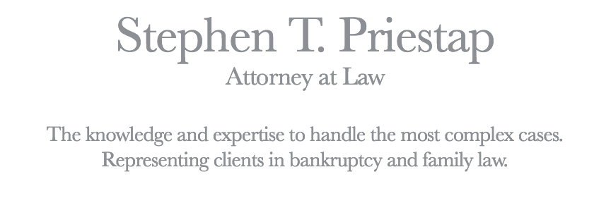 Stephen T. Priestap, Bankruptcy Attorney
